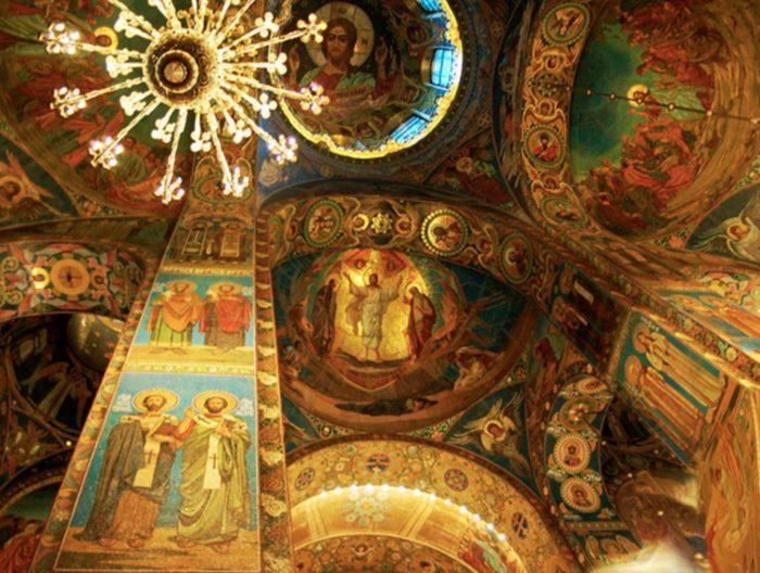 Мозаики храма Воскресения Христова