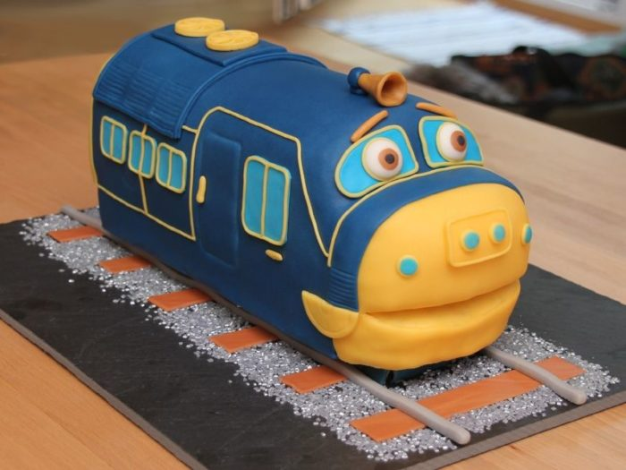 Торт на день железнодорожника