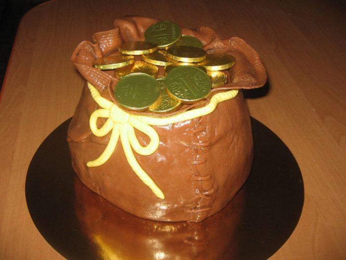 торт на день финансиста