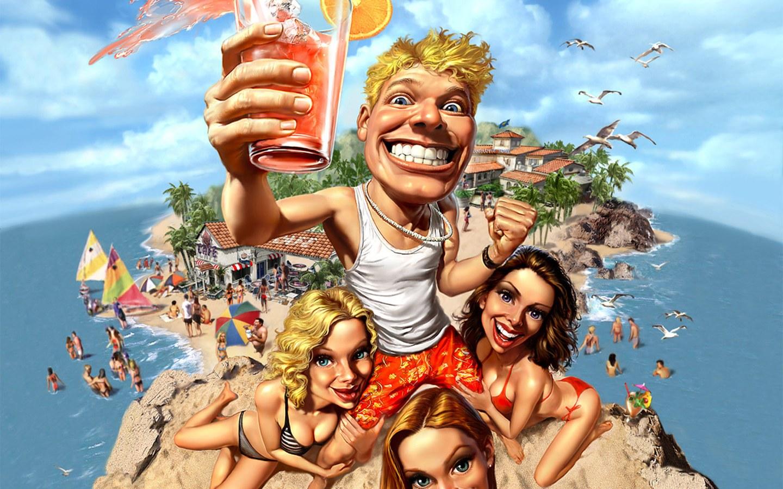 Смешные картинки про отдых на курорте