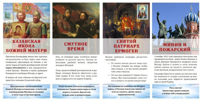 день народного единства история праздника кратко