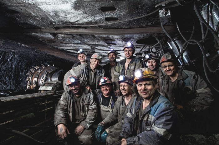 шахтер давно минувших дней