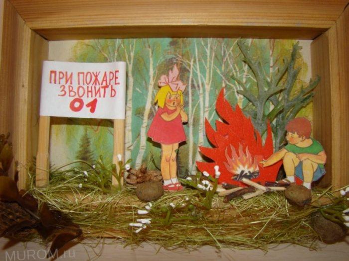 День пожарной охраны детская поделка