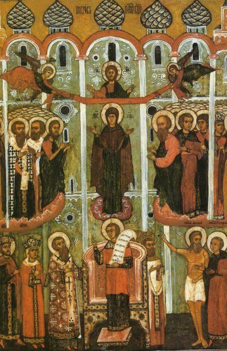 Икона в Церкви Покрова в с. Селезневе