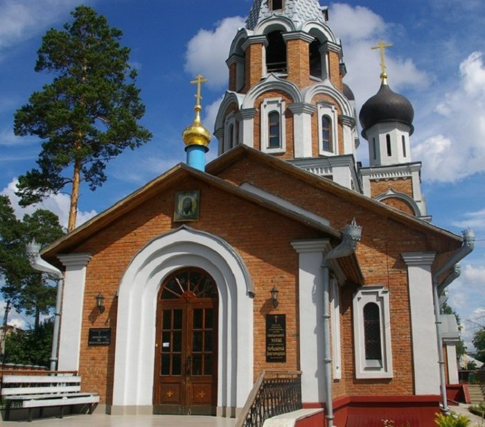 Храм Рождества Пресвятой Богородицы в Новосибирске