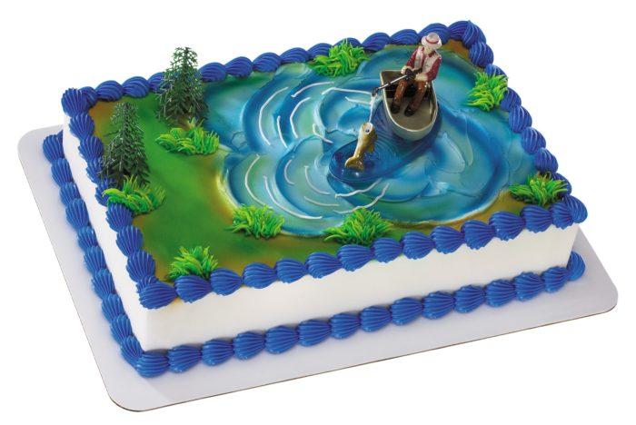 подарок рыбаку торт