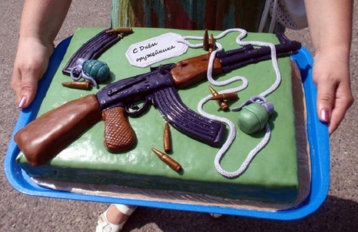 поздравления с днем оружейника и торт