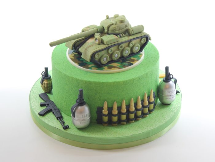 Торт для танкиста