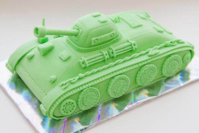 торт на день танкиста в России