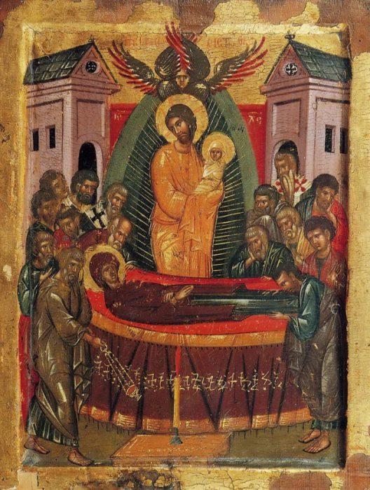 Успение Святой Богородицы икона
