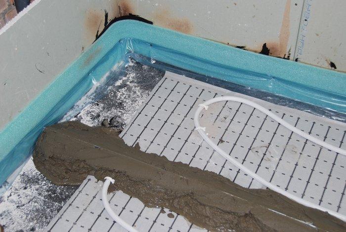 плитка на теплый водяной пол