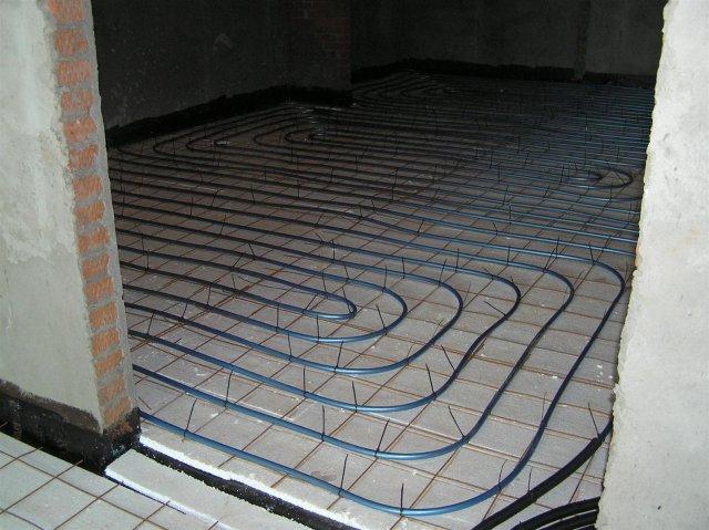 водяные тёплые полы под плитку