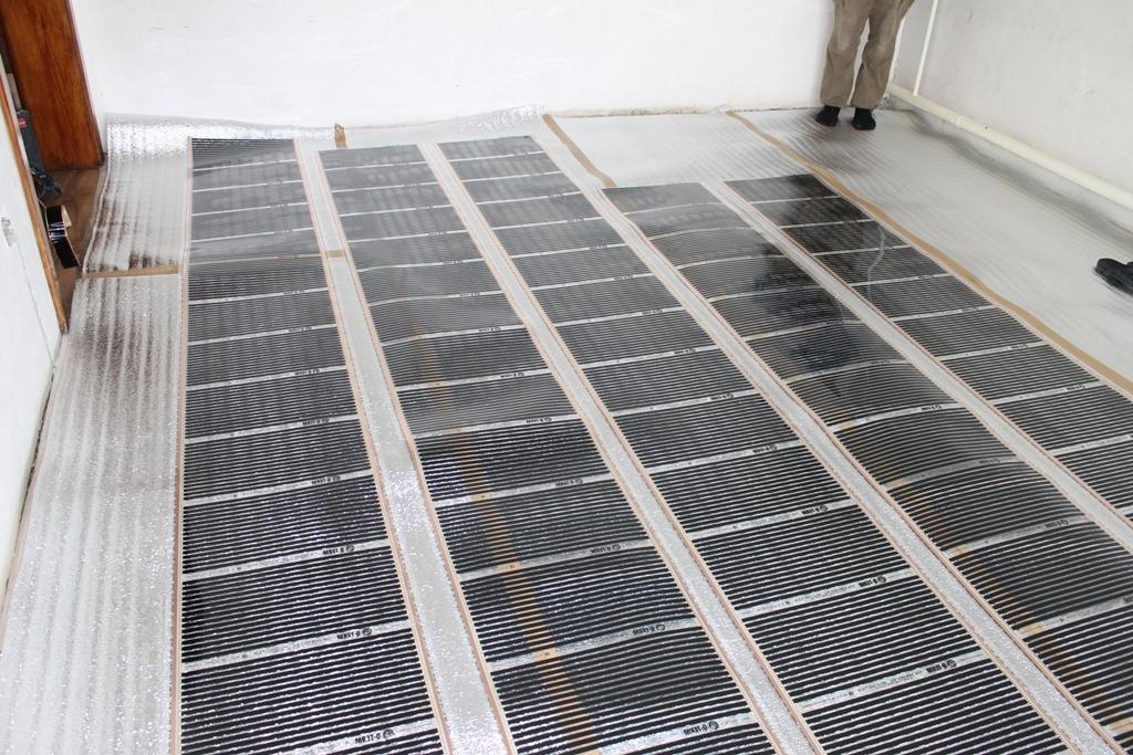 схема подключения электрического теплого пола