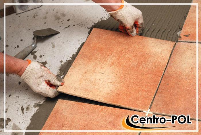 укладка напольной плитки на бетонное основание