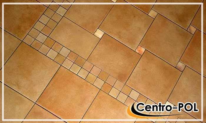 плитка по диагонали на полу