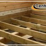 деревянные полы на лагах
