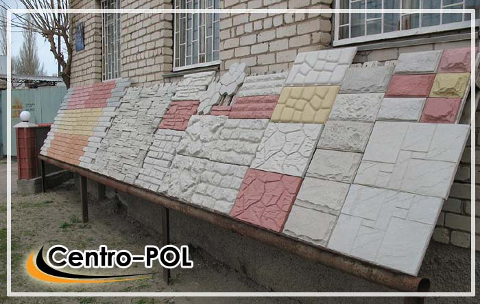 Изготовления фасадной плитки своими руками