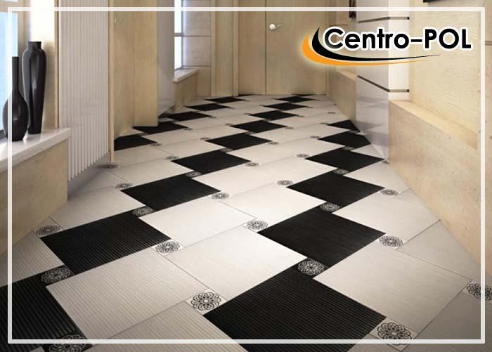 Плитка для пола в коридор: фото прихожей из керамогранита и дизайн