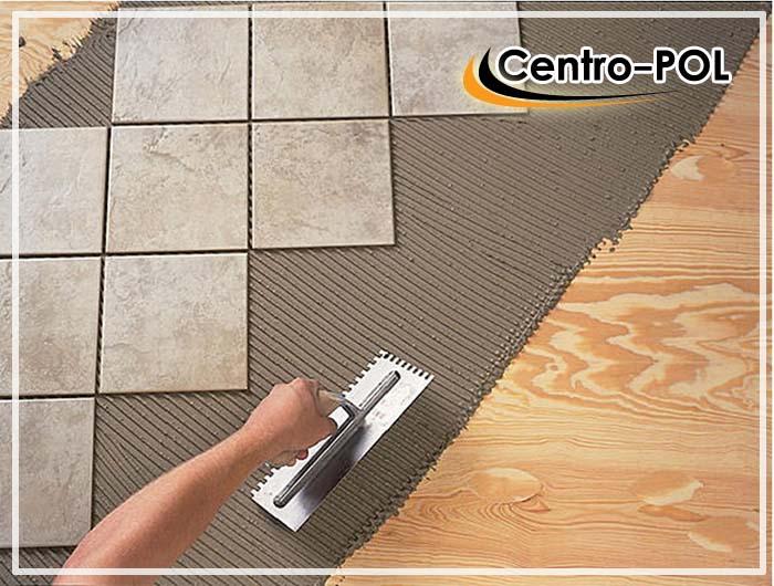 Приклеивание керамической плитки на деревянную поверхность