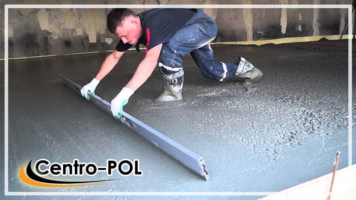 сколько стоит бетонный пол