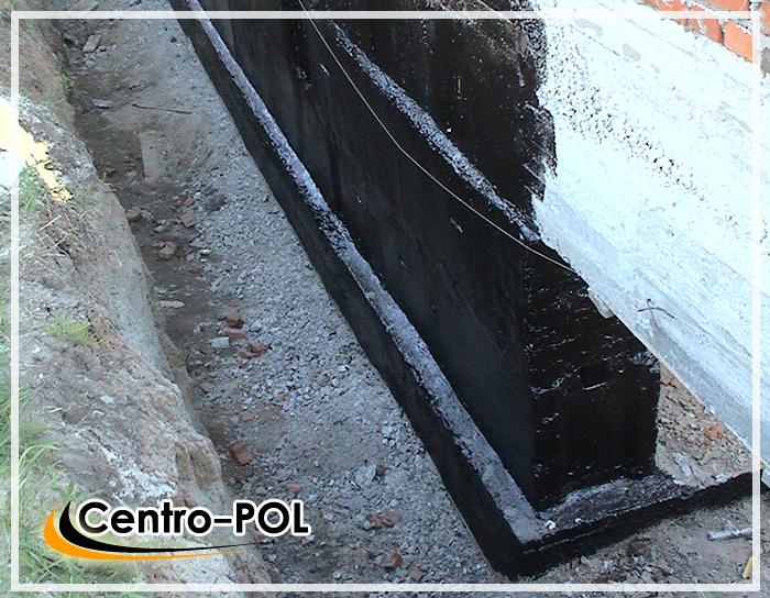 гидроизоляция фундаментов и стен подземной части здания