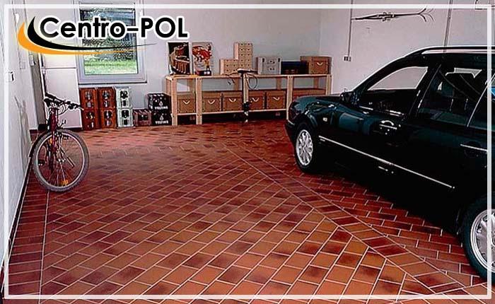 плитка на пол в гараж видео