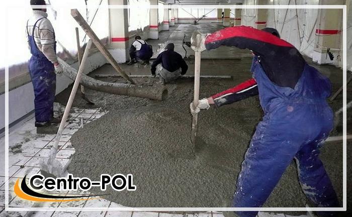устройство бетонного промышленного пола