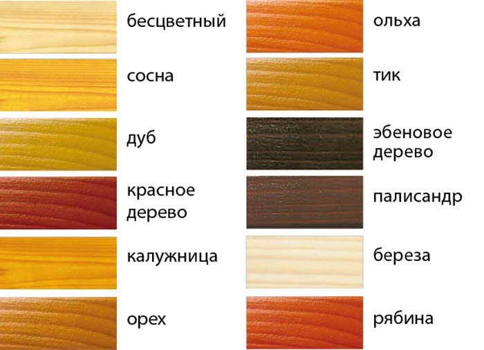 Эмаль для пола цвета