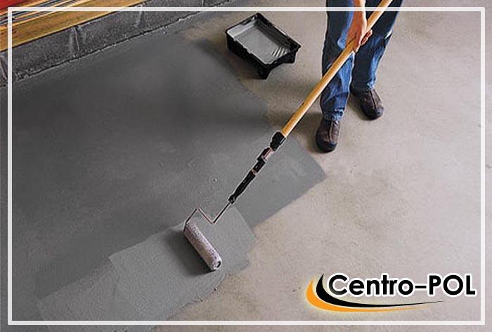 чем покрасить бетонный пол чтобы не пылил