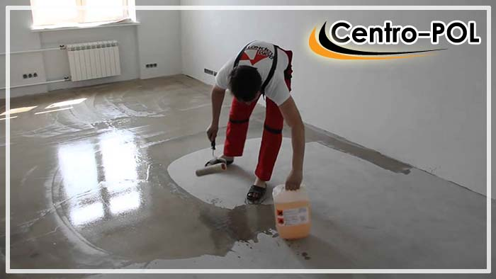 Покраска бетонных полов