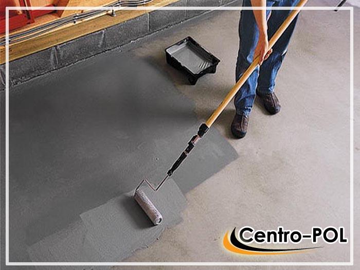 грунтовка для бетонного пола в гараже