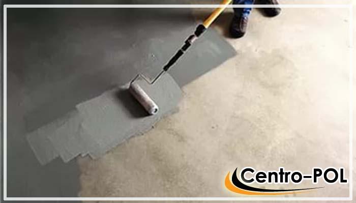 Покраска бетонного пола, сколько стоит и цены на карску
