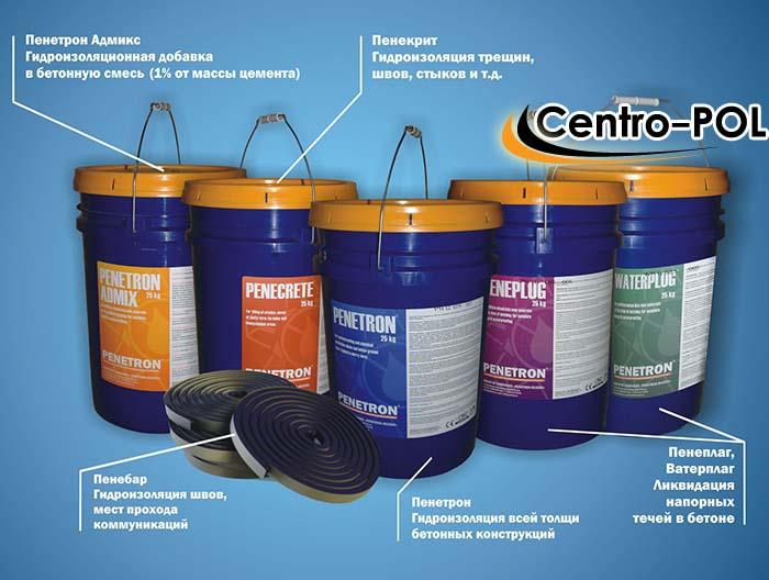 проникающая гидроизоляция пенетрон цена