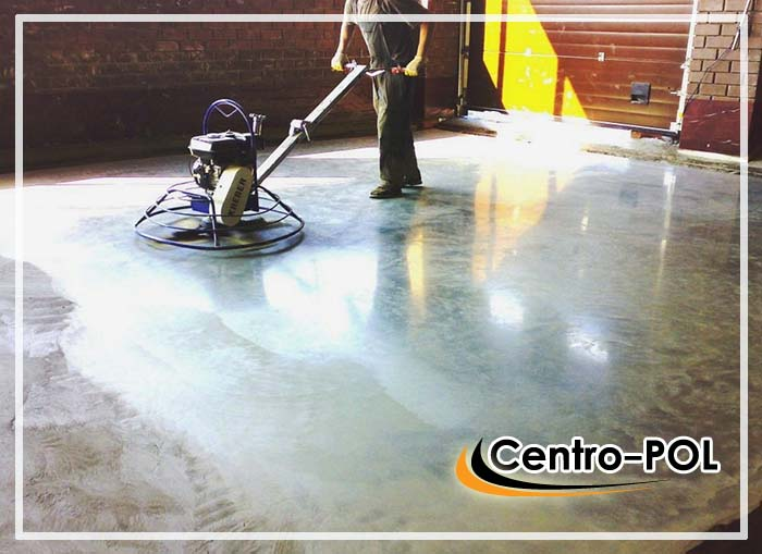 ремонт промышленных бетонных полов