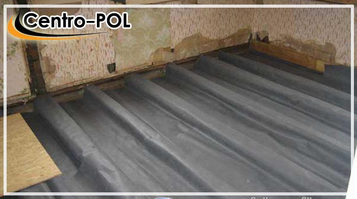 гидроизоляция грунта под деревянным полом