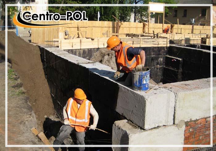 гидроизоляция фундамента цена за м2 работа