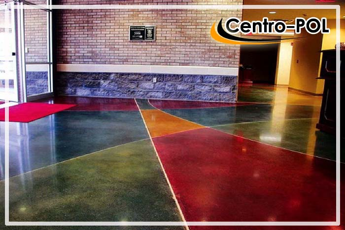 финишное покрытие бетонного пола