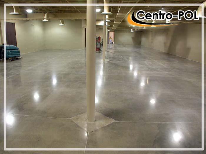 бетонные полы с топпингом технология