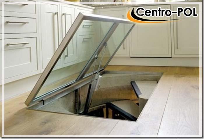 бетонный пол в погребе