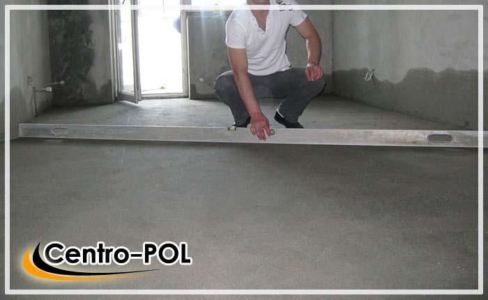 как заливать бетонные полы видео