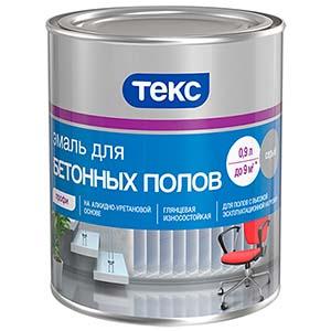 эмаль для бетонных полов акриловая