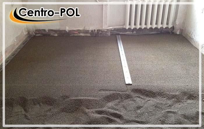 цементная стяжка пола цена за метр работы
