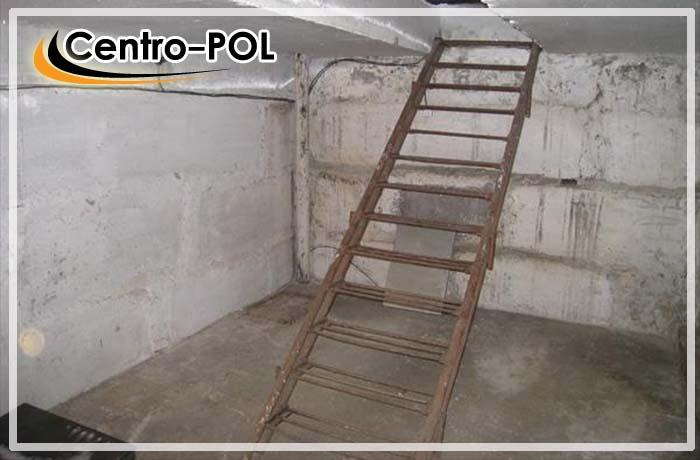 бетонный пол в подвале гаража