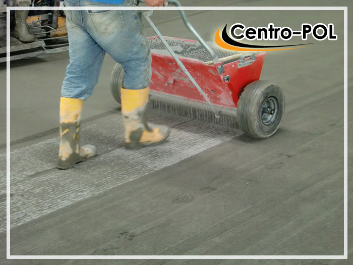 пыль на бетонном полу