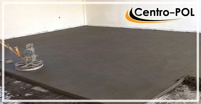 как просушить бетонный пол