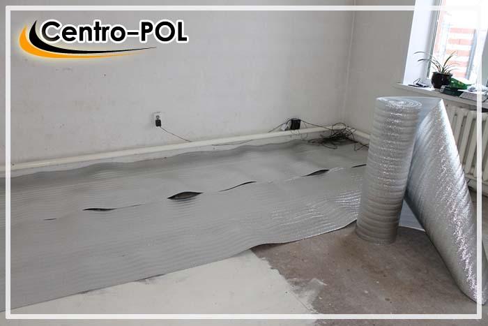 теплый пол на бетонной плите