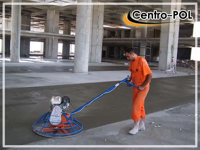 упрочненные бетонные полы с топпингом