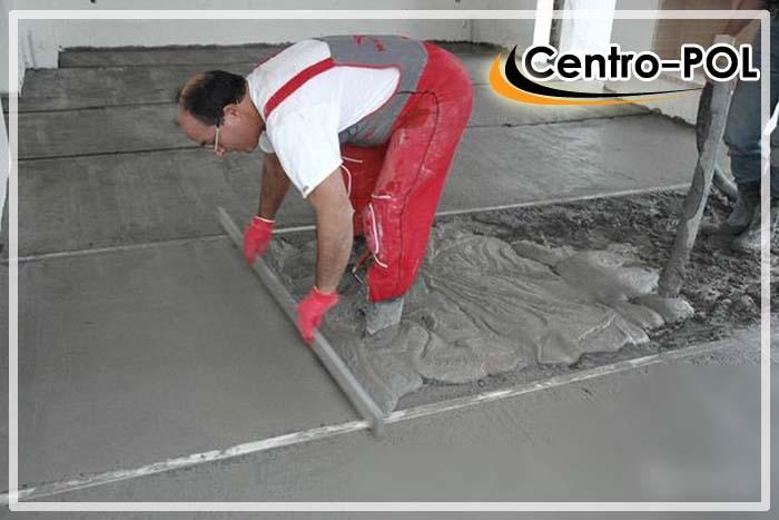 как выровнять бетонный пол в квартире