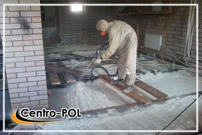 Теплые полы на бетонном основании