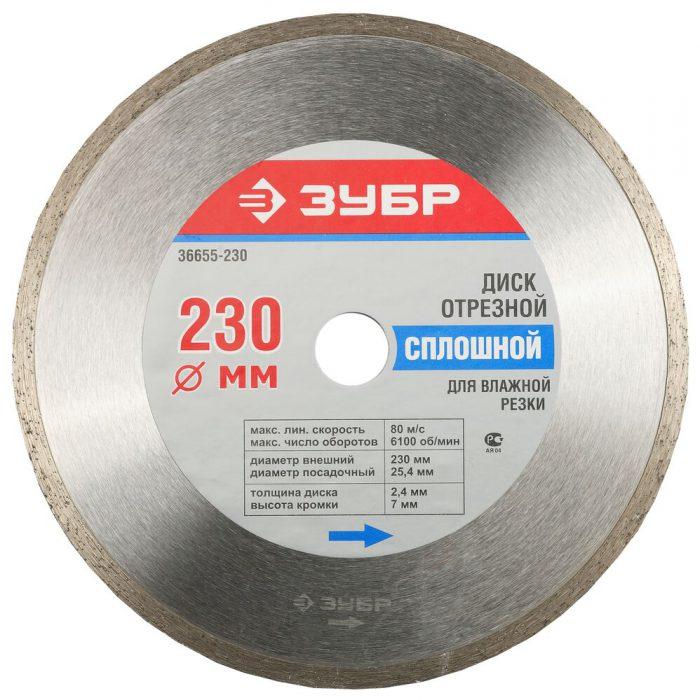 диски для мокрой резки
